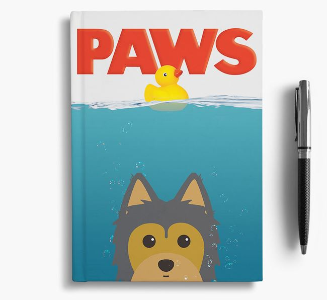 Paws - Morkie Notebook/Journal