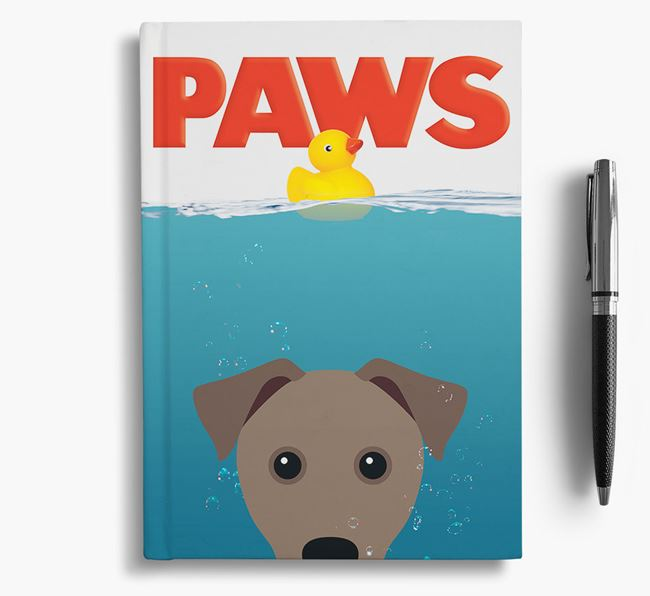Paws - Patterdale Terrier Notebook/Journal