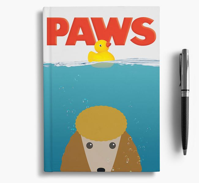 Paws - Poodle Notebook/Journal