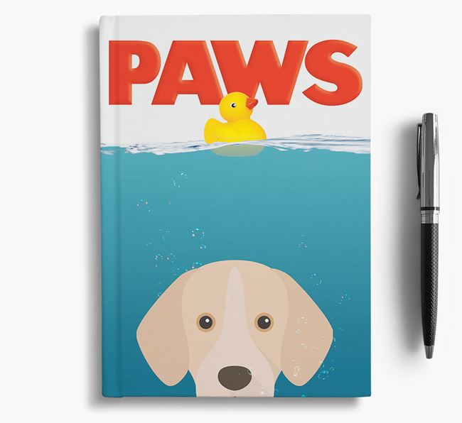 Paws - Portuguese Pointer Notebook/Journal
