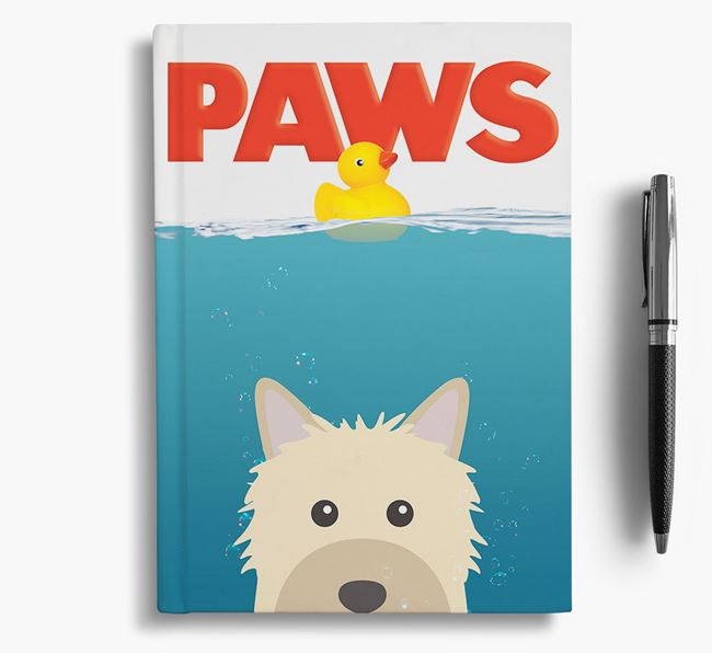 Paws - Powderpuff Chinese Crested Notebook/Journal