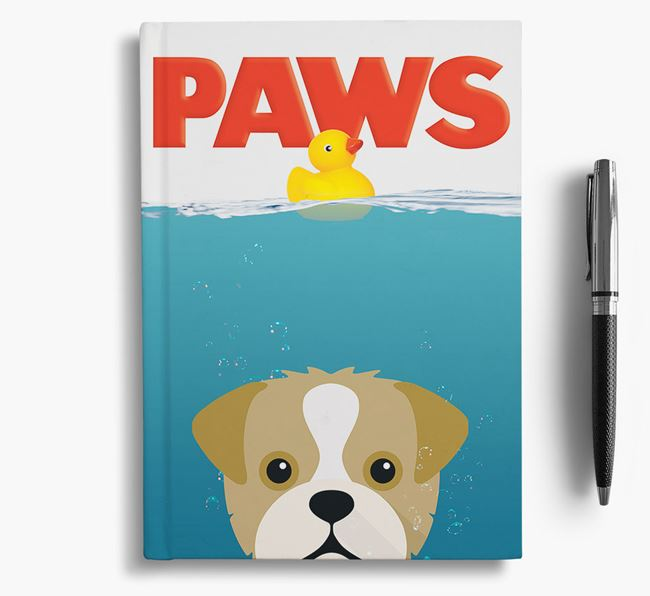 Paws - Pugapoo Notebook/Journal