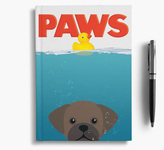 Paws - Puggle Notebook/Journal