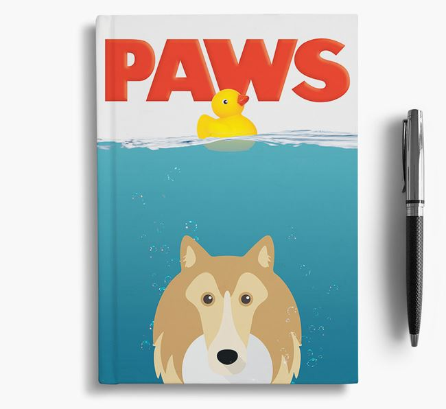 Paws - Rough Collie Notebook/Journal