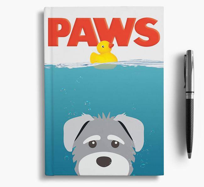Paws - Schnoodle Notebook/Journal