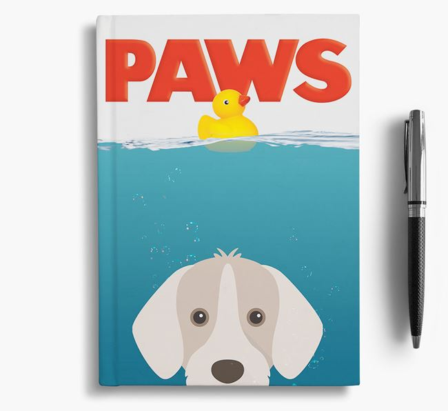 Paws - Slovakian Rough Haired Pointer Notebook/Journal