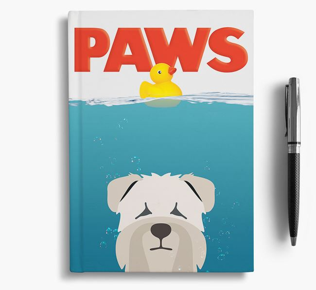 Paws - Soft Coated Wheaten Terrier Notebook/Journal