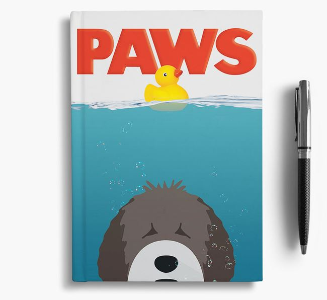 Paws - Spanish Water Dog Notebook/Journal
