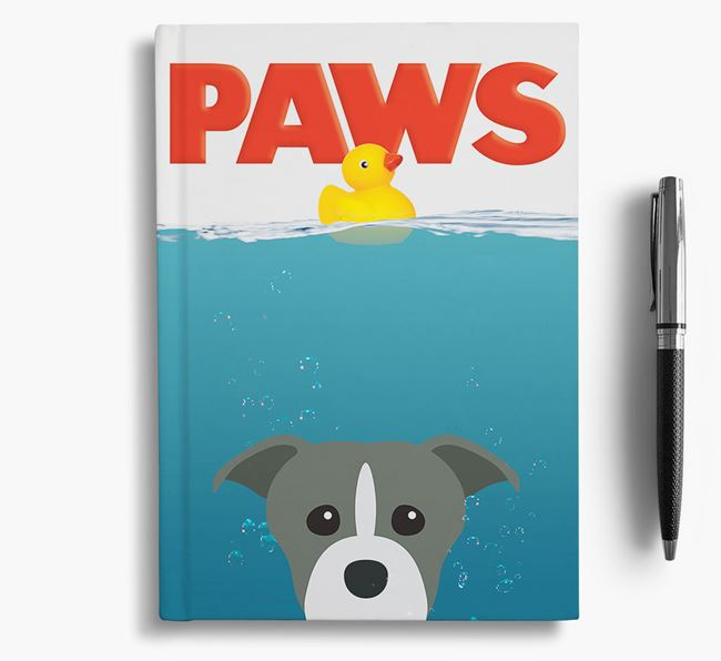 Paws - Staffordshire Bull Terrier Notebook/Journal