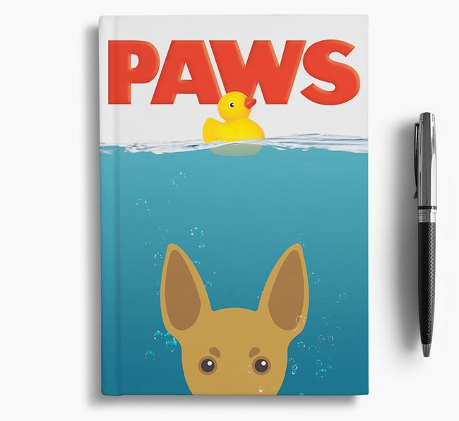 Paws - Toy Fox Terrier Notebook/Journal