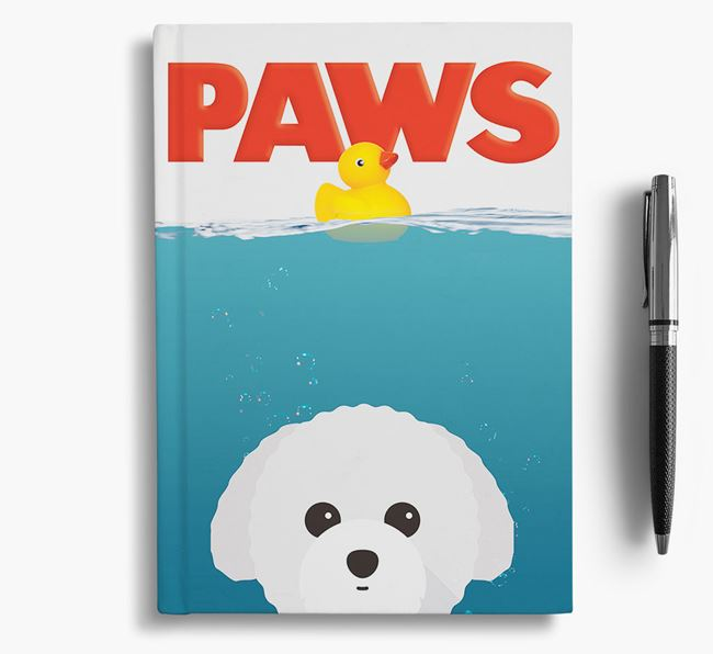 Paws - Toy Poodle Notebook/Journal
