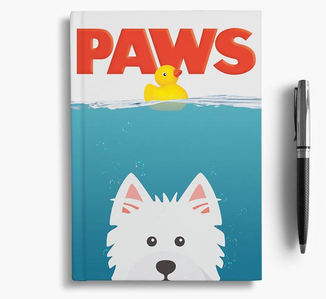 Paws - West Highland White Terrier Notebook/Journal