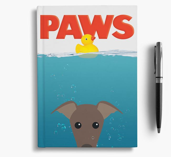 Paws - Whippet Notebook/Journal
