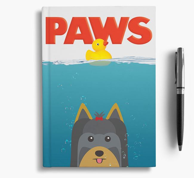 Paws - Yorkshire Terrier Notebook/Journal