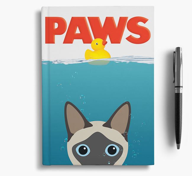 Paws - Siamese Notebook