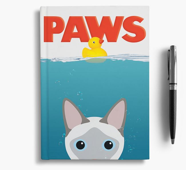 Paws - Siamese Notebook/Journal