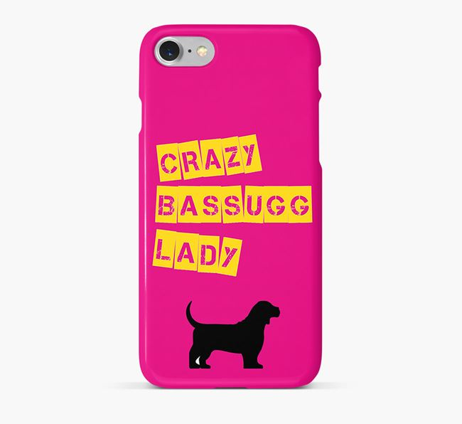 Phone Case 'Crazy Bassugg Lady