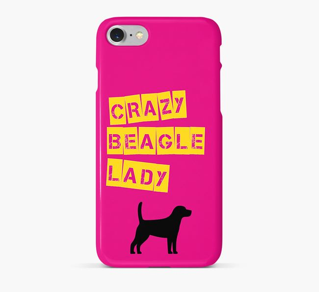 Phone Case 'Crazy Beagle Lady