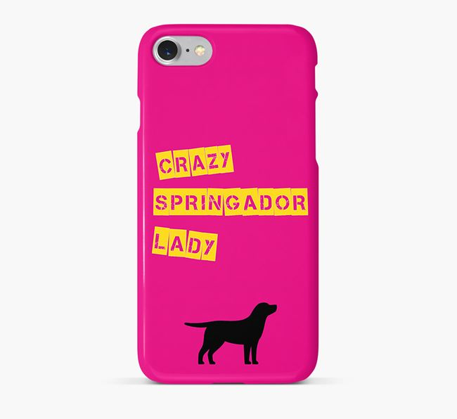 Phone Case 'Crazy Springador Lady