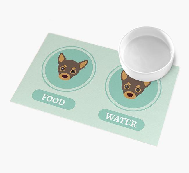 'Yappicons' - Personalised Chihuahua Feeding Mat
