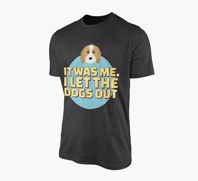 'It Was Me...' - Personalised Cavapoo Adult T-Shirt