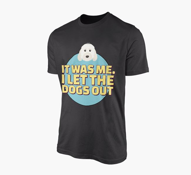 'It Was Me...' - Personalised Cockapoo Adult T-Shirt