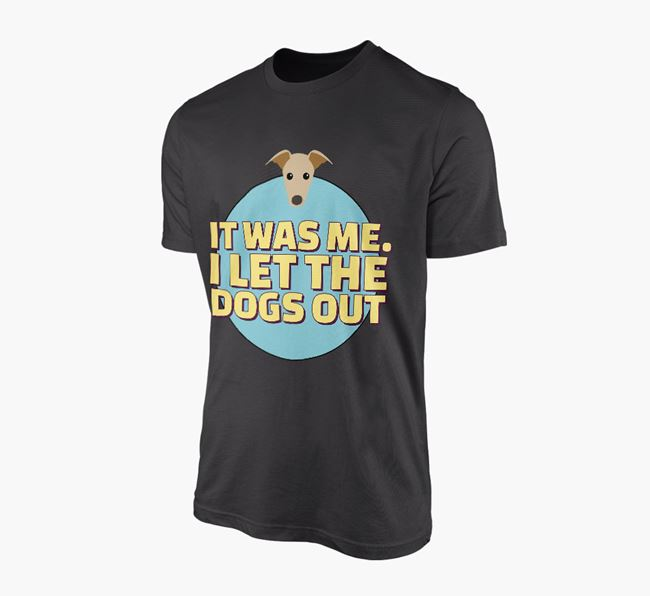 'It Was Me...' - Personalised Greyhound Adult T-Shirt