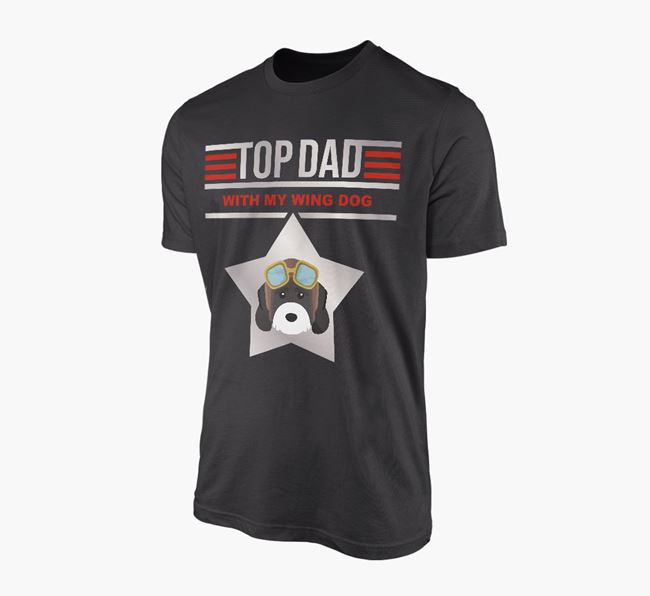 'Top Dad' - Personalised Cockapoo Adult T-shirt
