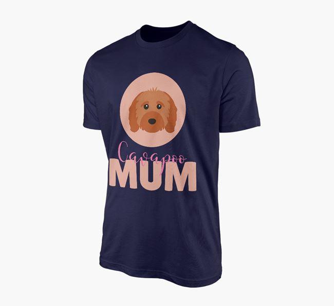 'Cavapoo Mum' - Personalized Cavapoo T-shirt