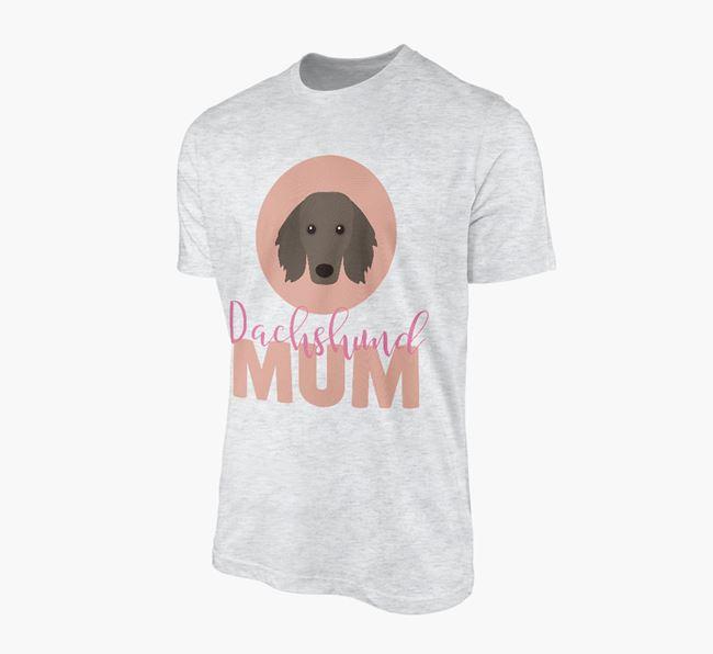 'Dachshund Mum' - Personalized Dachshund T-shirt