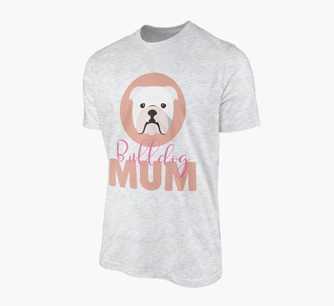 'Bulldog Mum' - Personalized English Bulldog T-shirt
