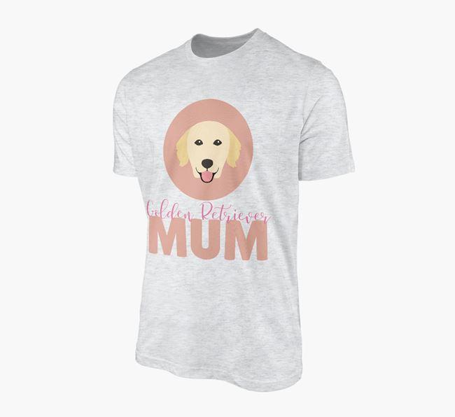 'Golden Retriever Mum' - Personalized Golden Retriever T-shirt