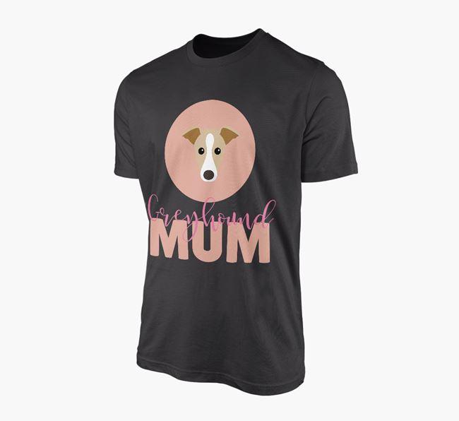 'Greyhound Mum' - Personalized Greyhound T-shirt