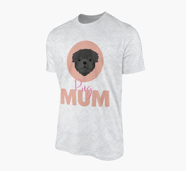 'Pug Mum' - Personalized Pug T-shirt