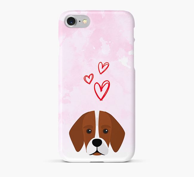 Phone Case with Bassugg Icon & Hearts