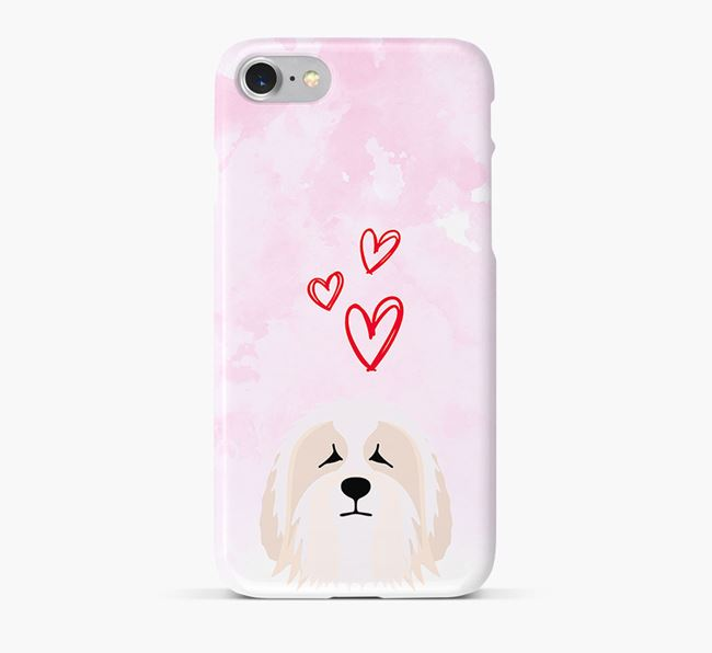 Phone Case with Polish Lowland Icon & Hearts