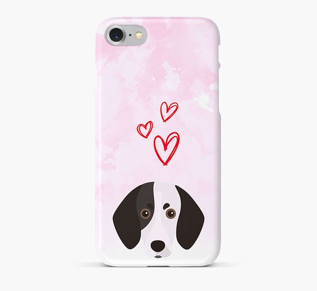 Phone Case with Trailhound Icon & Hearts