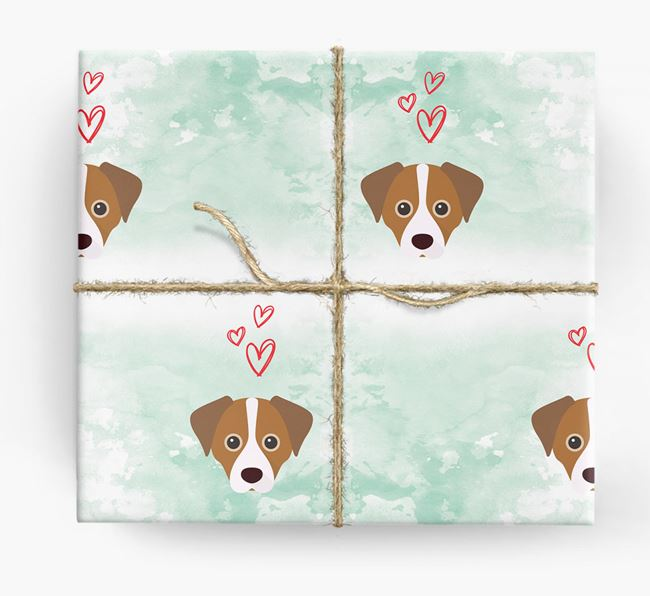 Cheagle Icons & Hearts Wrapping Paper
