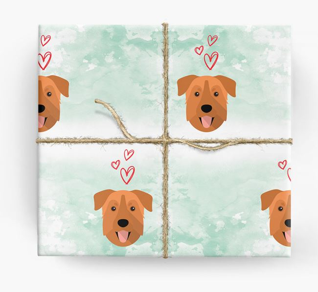 Chinook Icons & Hearts Wrapping Paper