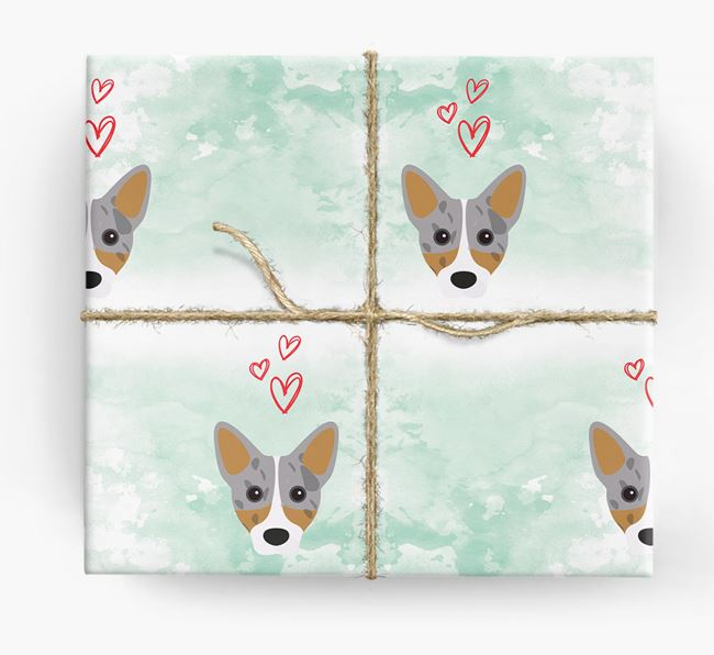 Cojack Icons & Hearts Wrapping Paper