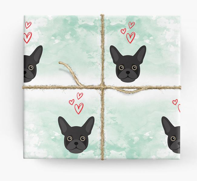 Frug Icons & Hearts Wrapping Paper