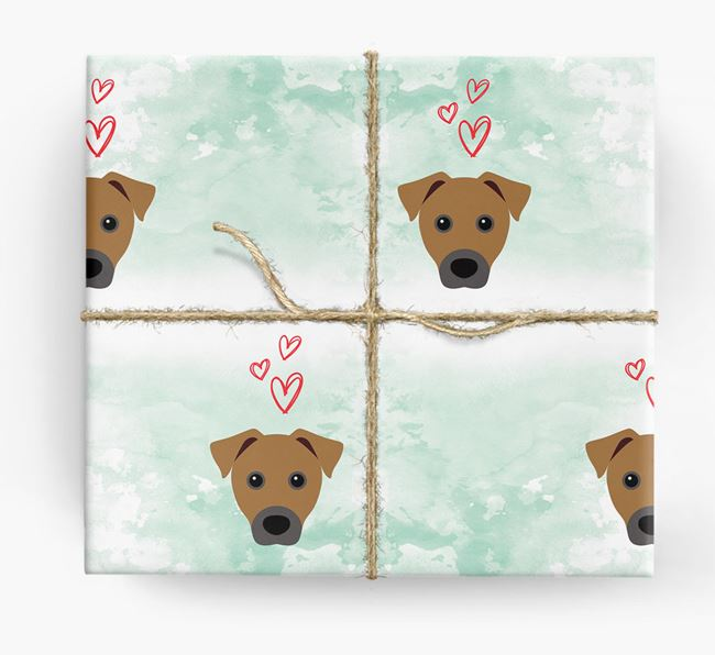 Patterdale Icons & Hearts Wrapping Paper