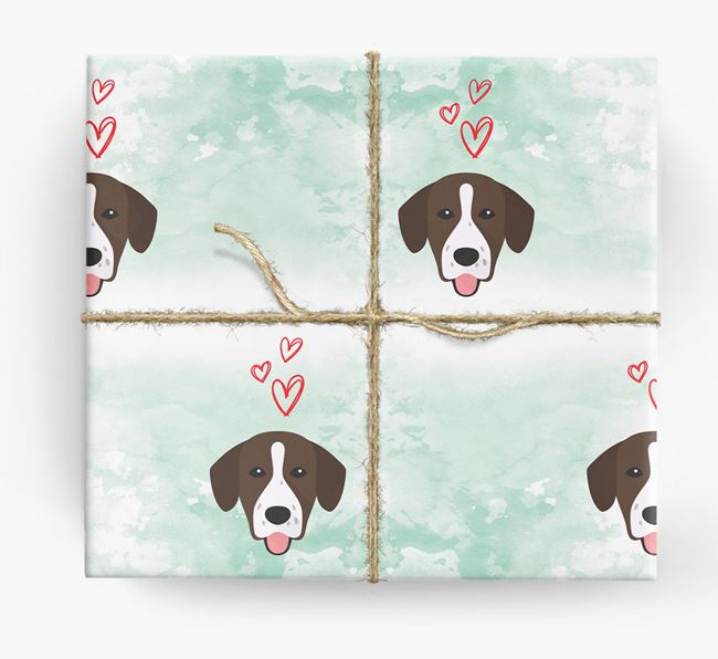 Springador Icons & Hearts Wrapping Paper