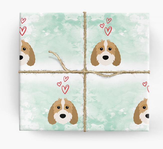 Sproodle Icons & Hearts Wrapping Paper