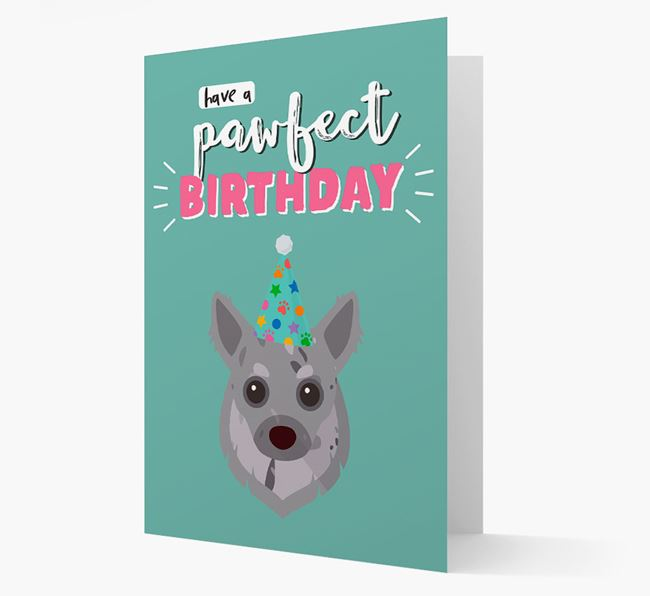 'Have A Pawfect Birthday' - Personalized Chihuahua Card