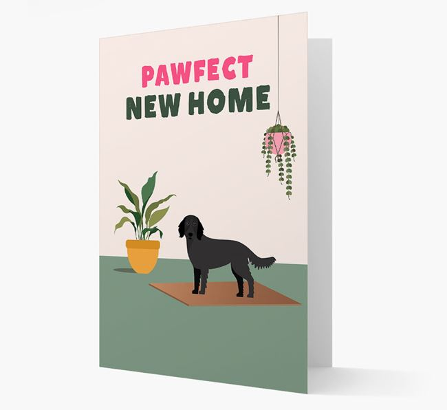 'Pawfect New Home' - Personalized Large Munsterlander Card