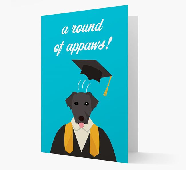 'A Round of Appaws!' - Personalized Borador Card