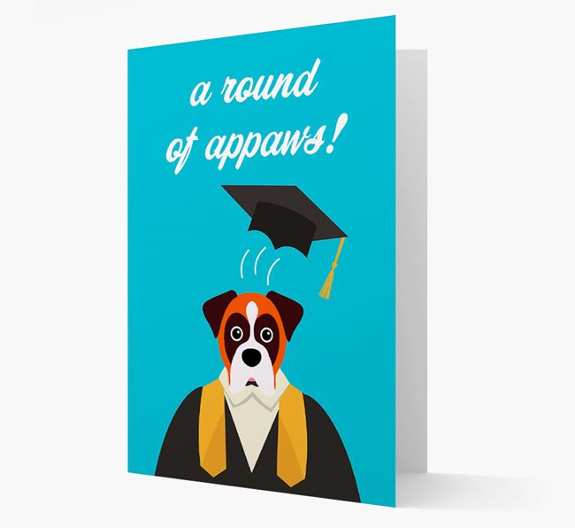 'A Round of Appaws!' - Personalised Dog Card