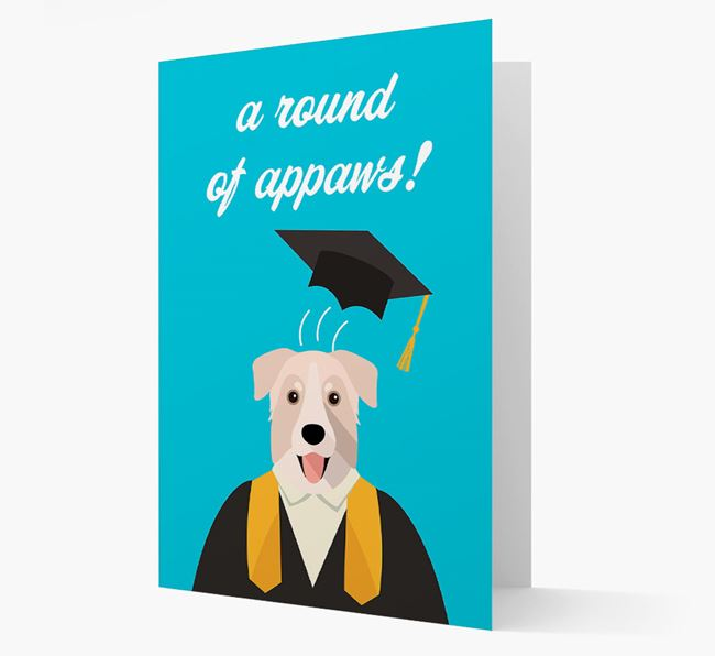 'A Round of Appaws!' - Personalized Chinook Card