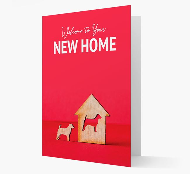 'Welcome to You New Home' - Jack-A-Poo Card